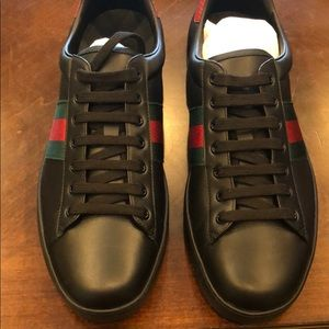 89f3175938a3 Gucci Shoes - Gucci Men s Sneakers ACE Clean Sneaker miro soft